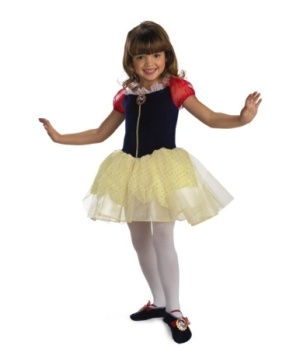 kids snow white ballerina costume