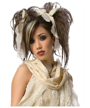 Gothic Mummy Adult Wig