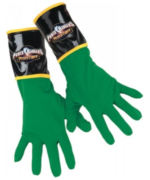 Green Ranger Gloves Child