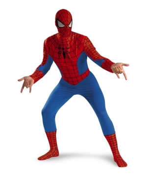Spiderman Movie Men Costume Deluxe