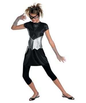 Black Suited Spider Girl Teen Costume