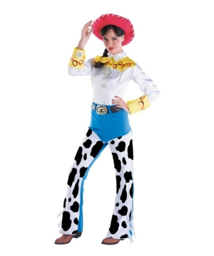 Toy Story Jessie Womens Costume Deluxe