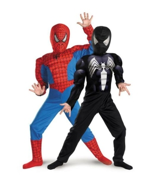 Spiderman Reversible Boys Costume Deluxe