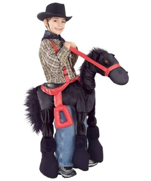 Black Ride A Horsey Kids Costume