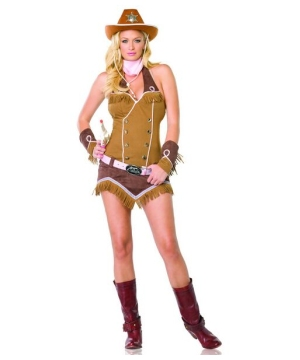Quickdraw Cowgirl Adult Costume