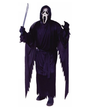 Scream Costume - Adult Halloween Costume