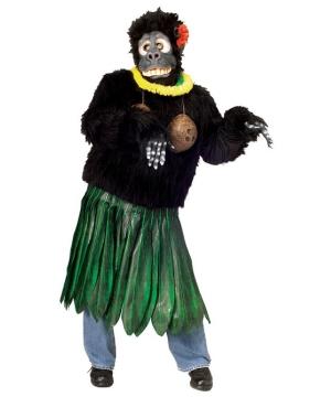 Aloha Gorilla Adult Costume