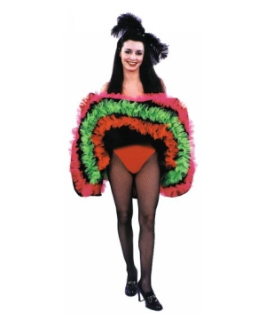 Can Can Skirt Costume - Adult Costume