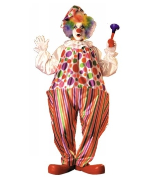 Snazzy Harpo Hoop Clown Adult Costume