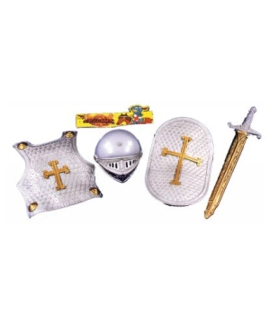 Kids Knight Crusader Boys Costume