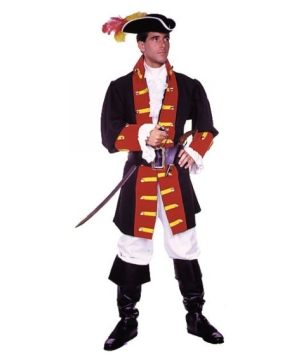 Captain Hook Prince Suit Adult Costume