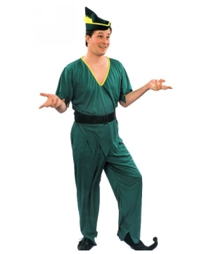 Green Robin Hood Adult Costume