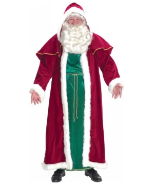 Victorian Santa Suit Adult Costume