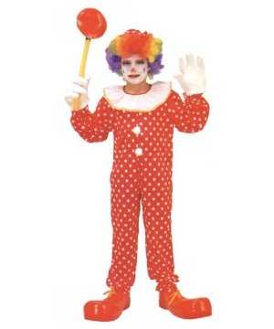 Clown Boys Costume deluxe