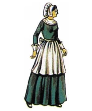Pilgrim Lady Costume Accessory Kit