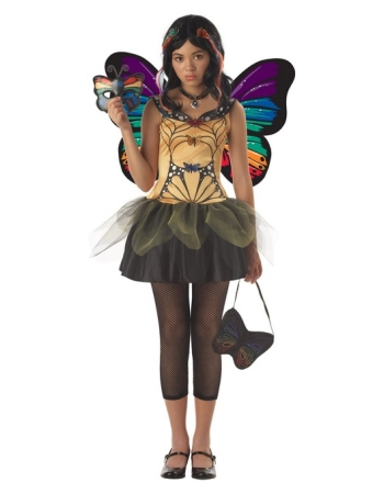 Butterfly Masquerade Teen Costume