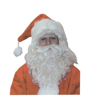 Santa Wig & Beard Christmas Costume Accessory