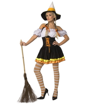 Candy Corn Womens Costume