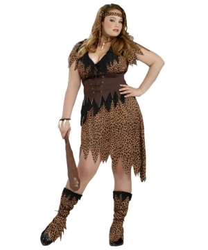 Cave Beauty Adult plus Costume