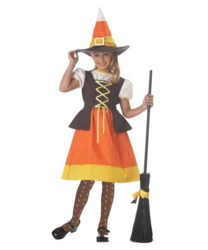 Sweet Candy Witch Kids Costume