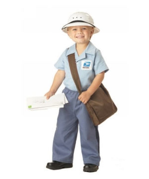 Mr. Postman Toddler Costume