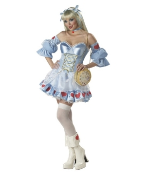Alice Rebel Toons Adult Costume deluxe