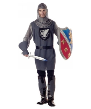 Valiant Knight Men Costume