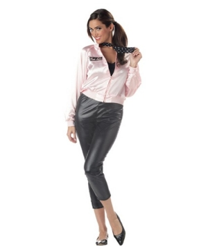 Pink Ladies Womens Costume