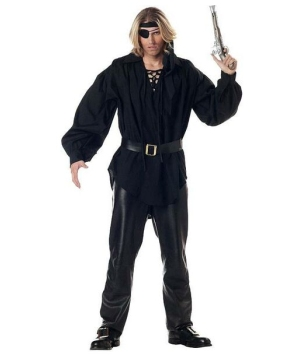 Swashbuckler Pirate Shirt Men Costume