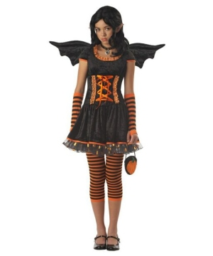 Pumpkin Pixie Teen Costume