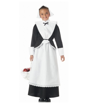 Pilgrim Dress Girl Costume