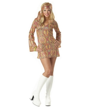 Disco Dolly Costume - Adult