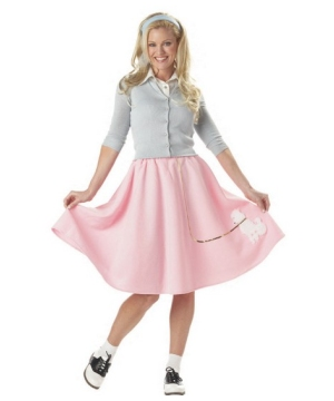 Poodle Skirt Classic Women Costume