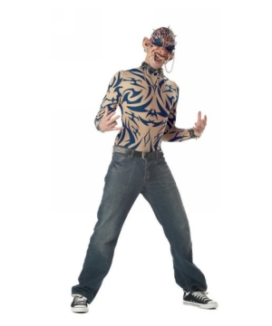 Tattoo Freak Adult Costume