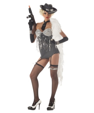 Glitzy Gangster Women Costume