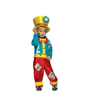 Clown Boy Baby Costume