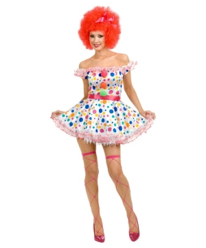 Circus Clown Women Costume