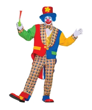 Clown on the Town Adult Costume