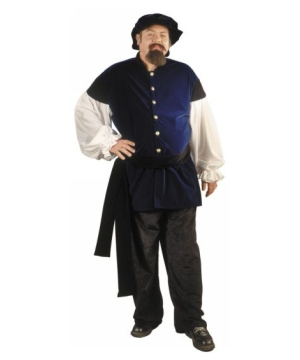 Renaissance Men plus size Costume