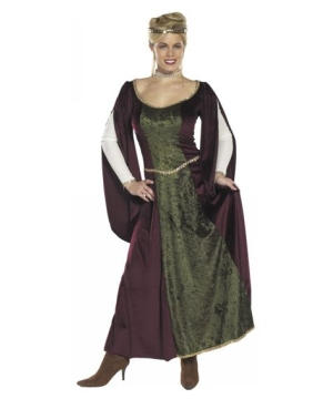 Elegant Renaissance Queen Adult Costume
