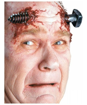 Terminal Twist Kit Movie Style Makeup and Prosthetic