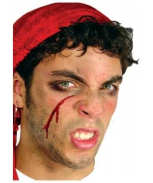 Pirate Halloween Makeup - Face Pirate Makeup