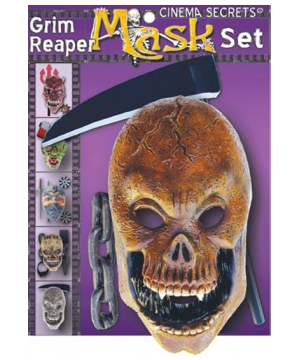 Grim Reaper Men Costume Kit