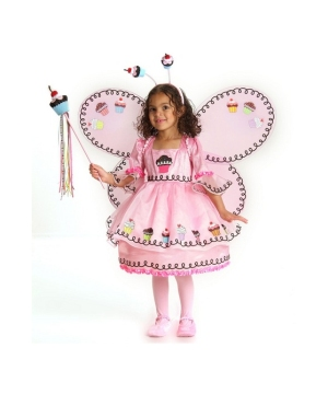 Cupcake Fairy Girl Costume