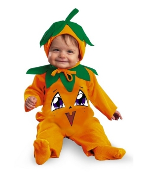 Little Pumpkin Pie Baby Costume