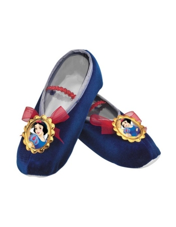 snow white kids ballet slippers