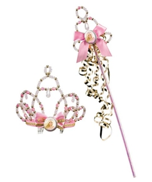 Barbie Tiara and Wand Kids Costume Accessory