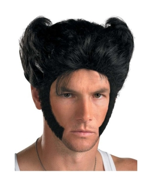 Wolverine Origins Kit - Adult Wig