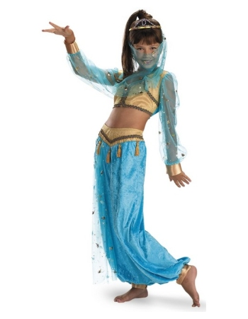 Mystical Genie Girl Costume Deluxe