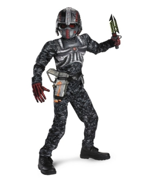 Operation Rapid Recon Commando Boys Costume